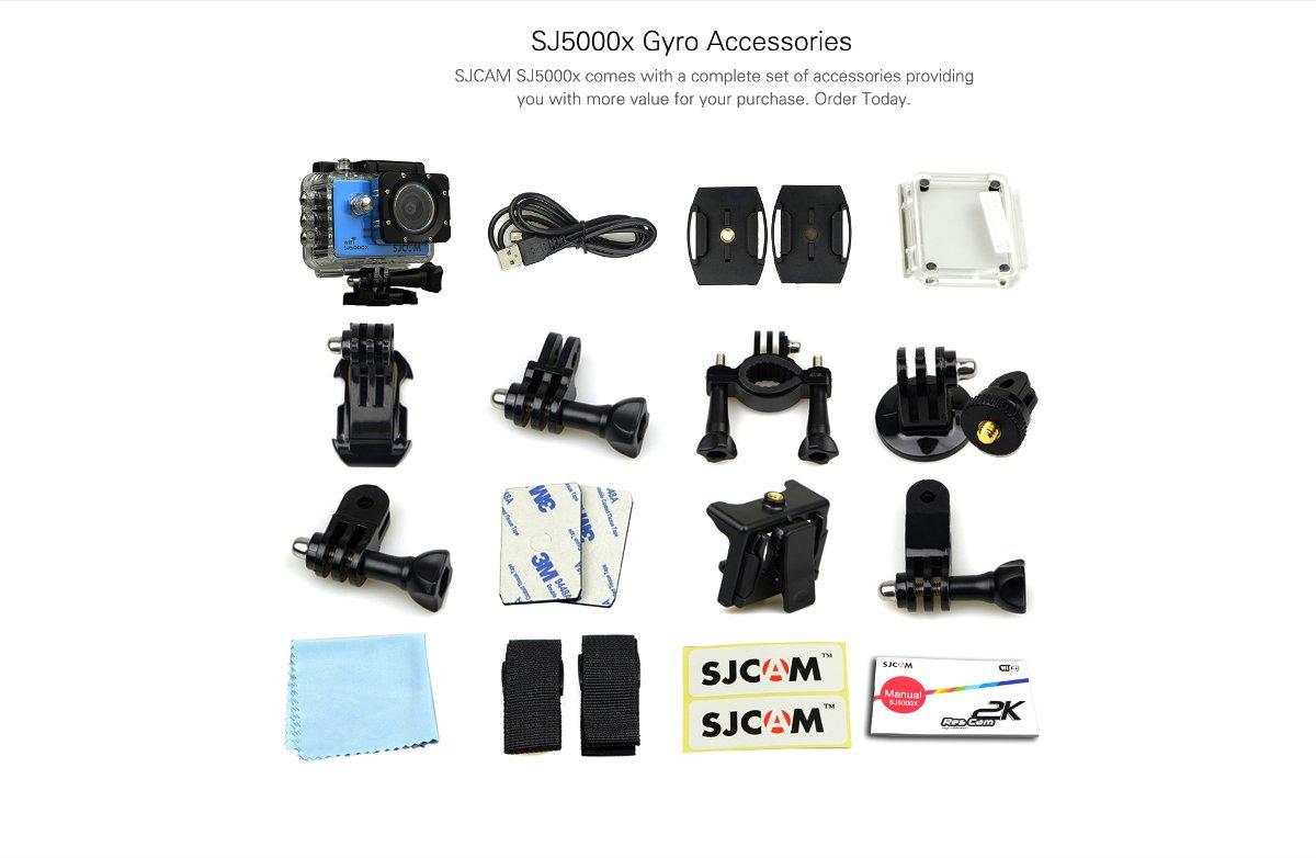 Анонсы: Экшн-камера SJCAM SJ5000X Elite с сенсором Sony и записью 4К-видео