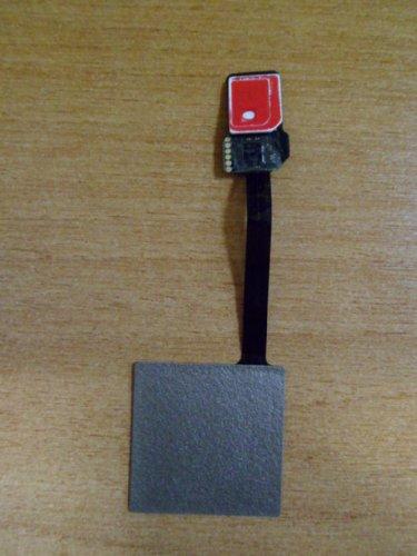 Образец комплекта SIM и микроSIM+NFC-антенна, готовый к установке в гаджет