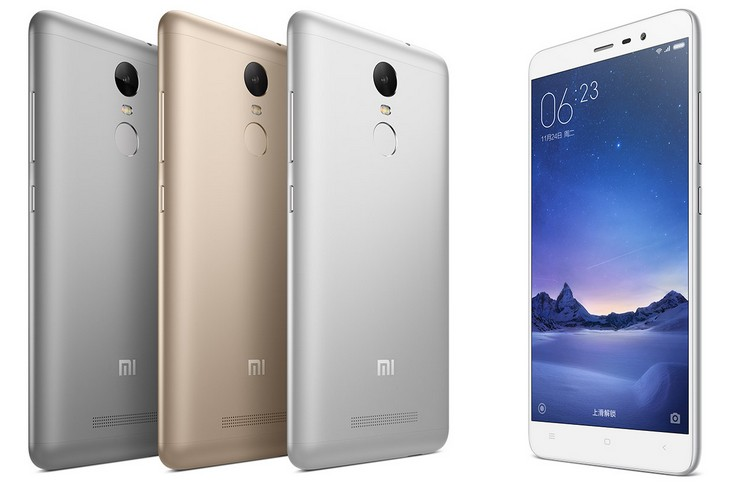 Анонсы Xiaomi Redmi Note 3 – прямой конкурент Meizu metal