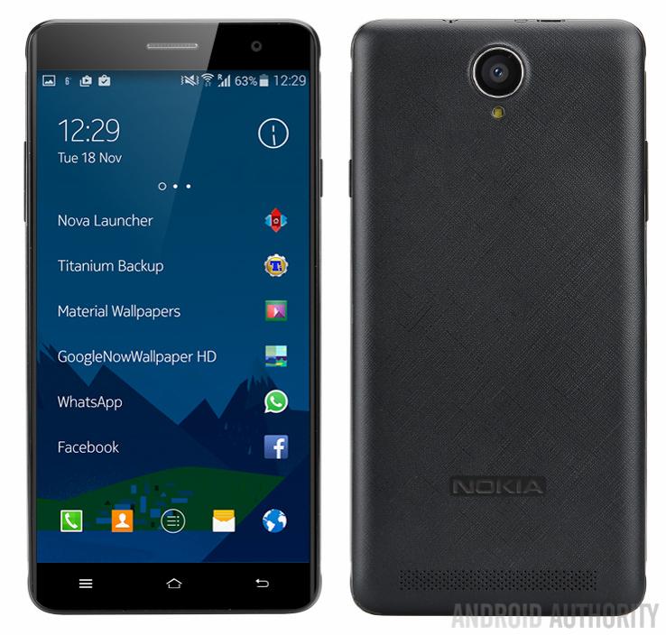 Слухи Смартфон Nokia A1 будет нацелен в средний класс