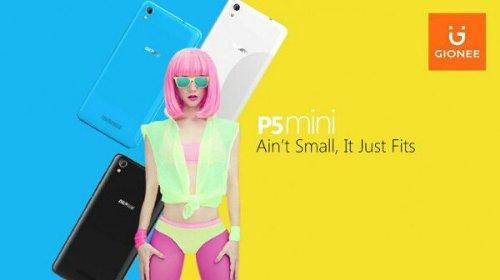 Анонсы: Gionee P5 Mini – компактный смартфон начального уровня