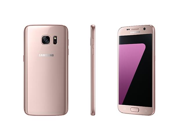 Самсунг Galaxy S7 иS7 Edge вцвете «розовое золото»