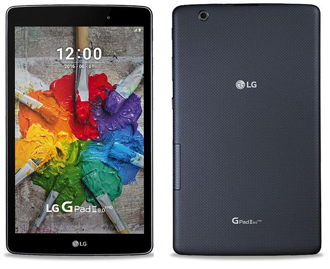 Анонсы Официально представлен LG G Pad III 8.0