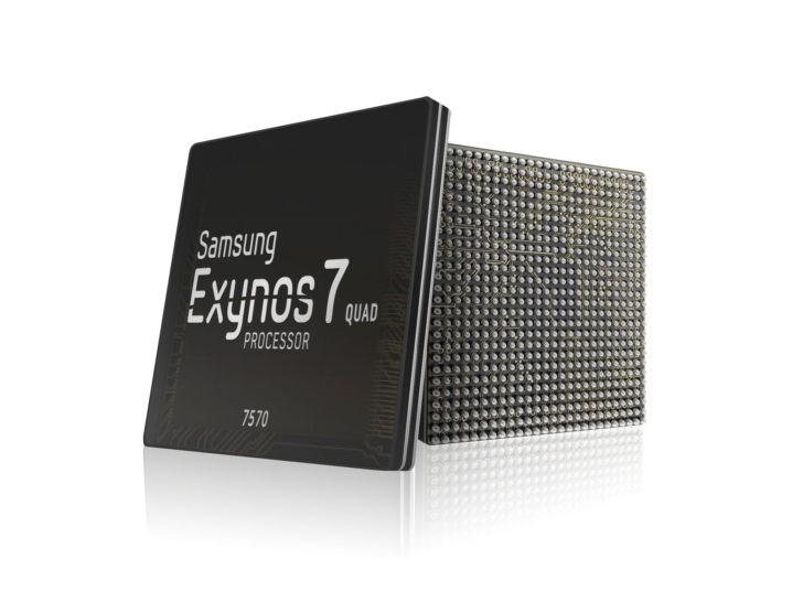 Самсунг начала производство дешевых чипсетов Exynos 7570