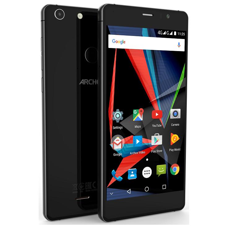 Archos представила селфи-смартфон 55 Diamond Selfie