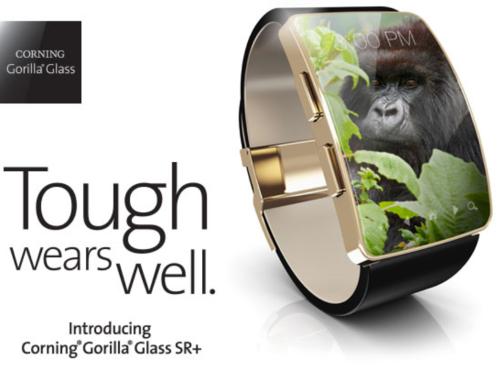 Компоненты: Corning Gorilla Glass SR+ - защитное стекло для носимых устройств