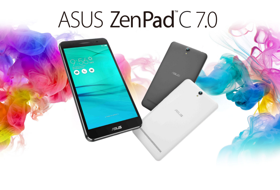 Анонсы Asus Zen Pad C – 7-дюймовый планшет с телефонным функционалом
