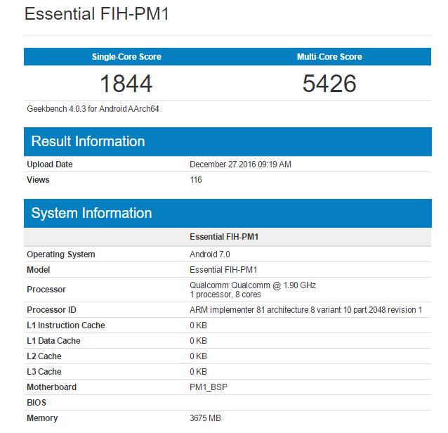 ВGeekBench появились результаты флагманской SoC Qualcomm Snapdragon 835