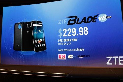 CES 2017: ZTE Blade V8 Pro – ответ Honor 6X