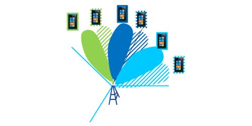 Реализация MU-MIMO при формировании множества лучей диаграммы направленности антенны базовой станции