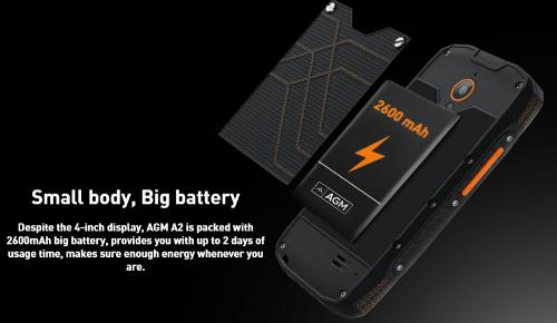 Анонсы: AGM A2 – защищенный смартфон с базовыми параметрами