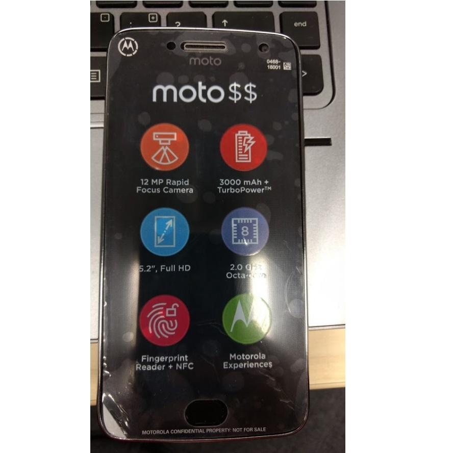 Новое фото Moto G5 Plus— Утечка