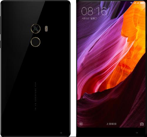 Слухи: Экран Xiaomi Mi MIX 2 займет 93% площади передней панели