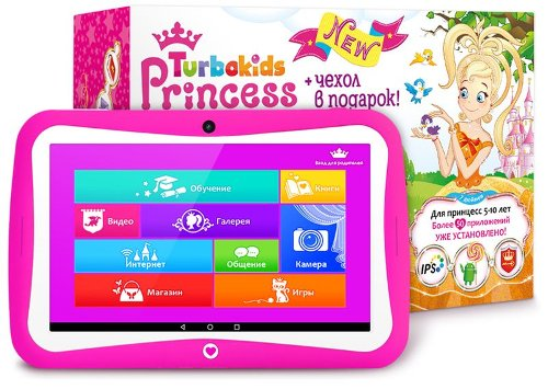 «Девчачий» планшет Turbokids Princess New