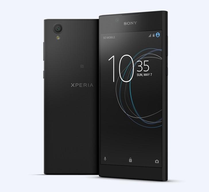 Анонсы Sony Xperia L1 оснащен 5,5-дюймовый дисплеем и 13 Мп камерой