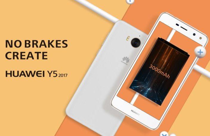 Анонсы Huawei Y5 2017 c новой Easy Key представлен официально