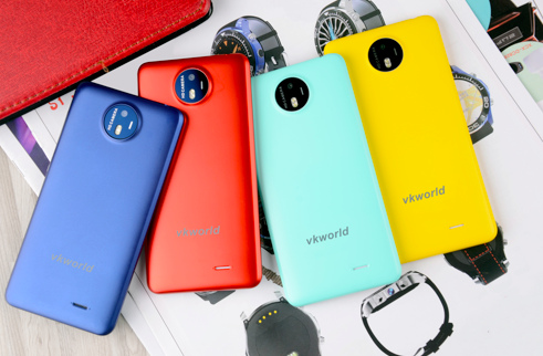 Анонсы: Vkworld Mix + станет самым доступным безрамочным смартфоном