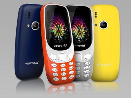 Анонсы: Vkworld выпустила клон Nokia 3310 за $25