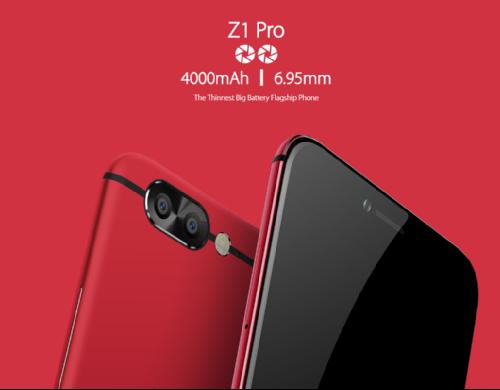 Анонсы: Раскрыты полные спецификации UMIDIGI Z1 и Z1 Pro