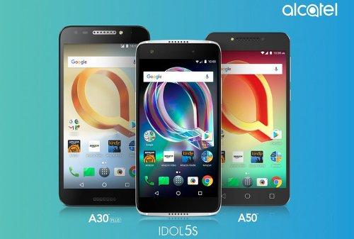 Анонсы: Alcatel Idol 5S, A50 и A30 Plus – отличный функционал при привлекательной цене