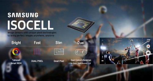 Компоненты: Samsung раскрыла подробности о новых сдвоенных камерах с ISOCELL