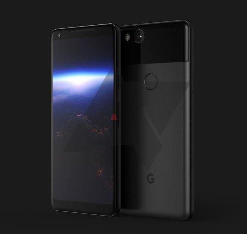 Слухи: Google Pixel XL 2 замечен на рендерах