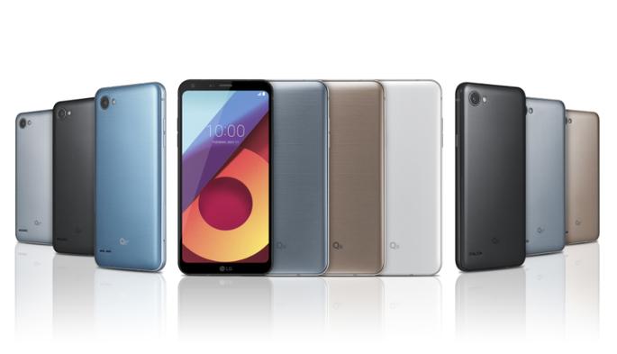LGпредставила дешевый  смартфон с дисплеем  18:9