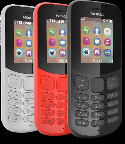 Анонсы: Недорогие фичефоны Nokia 105 и Nokia 130 представлены официально