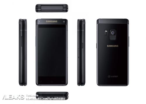 Слухи: Появились изображения нового раскладного смартфона Samsung