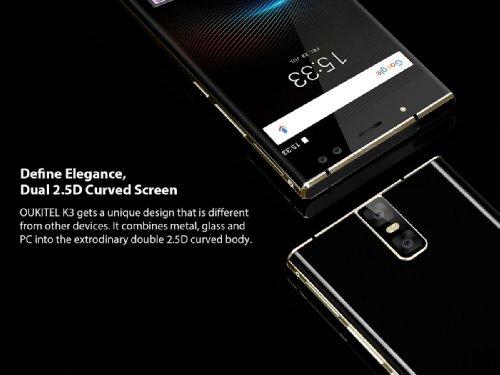 Анонсы: Oukitel K3 оснастят аккумулятором емкостью 6000 мАч и четырьмя камерами