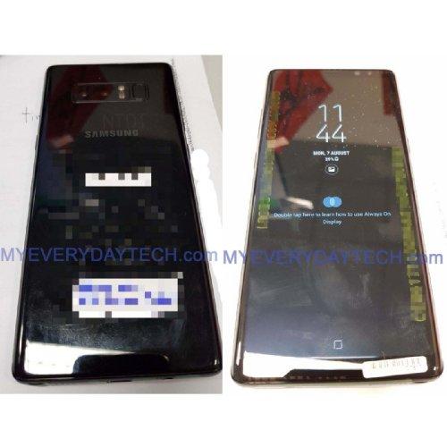 Слухи: Появились первые «живые» фото Samsung Galaxy Note 8