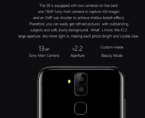 Анонсы: Официально представлен Meiigoo S8 с 6,1-дюймовым дисплеем 18:9 и сдвоенной камерой
