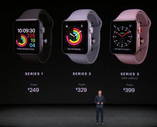 Анонсы: Apple Watch Series 3 могут работать и без iPhone