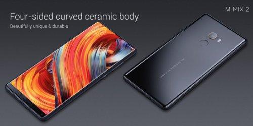 Анонсы: Xiaomi Mi Mix 2 со Snapdragon 835 и 6-дюймовым дисплеем представлен официально