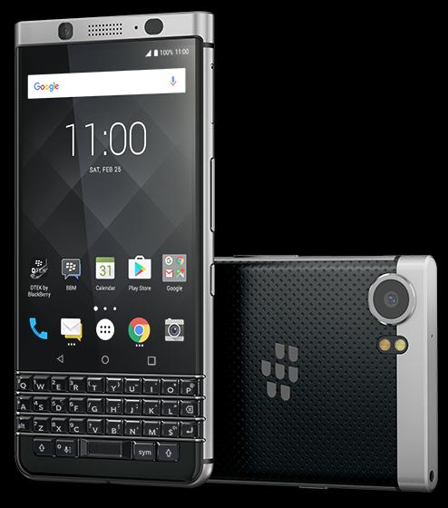 TCL Communication объявила остарте продаж телефона BlackBerry KEYone