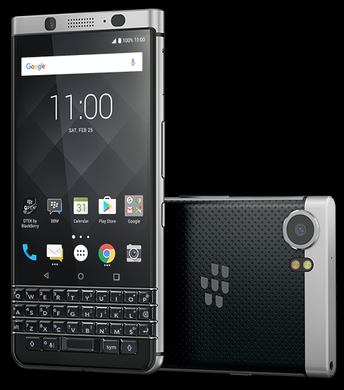 BlackBerry KEYone сQWERTY-клавиатурой выходит в РФ
