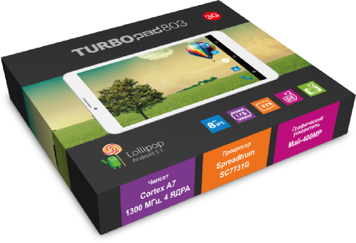 Обзор планшета TurboPad 803