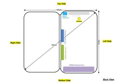Слухи: ZTE Axon M со складным экраном замечен в FCC