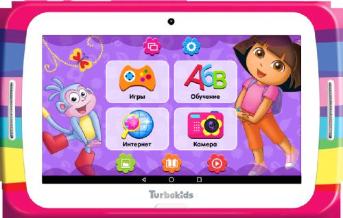 Обзор детского планшета TurboKids Даша-путешественниц