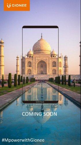 Анонсы: Gionee M7 Power с экраном 18:9 и батареей 5000 мАч появиться в Индии