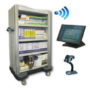 RFID смарт шкаф
