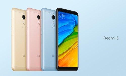 Анонсы: Xiaomi Redmi 5 и Redmi 5 Plus – доступные смартфоны с экраном 18:9