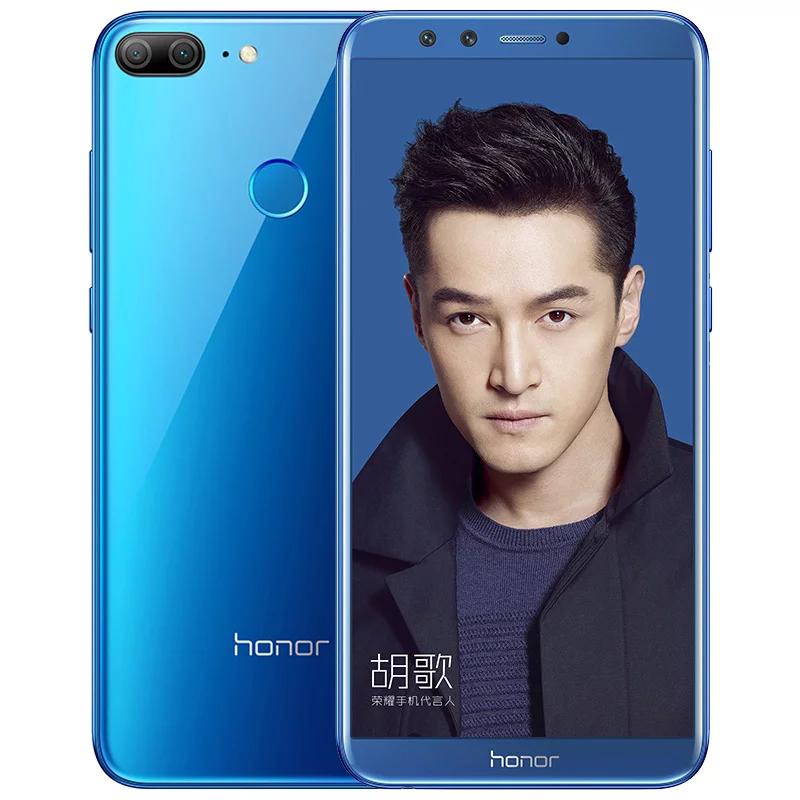 Представлен безрамочный Huawei Honor 9 Lite счетырьмя камерами