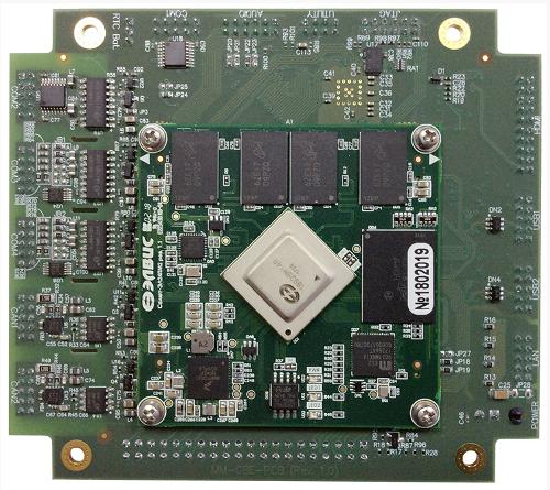 одноплатный компьютер MM-CBE, построенный на российском процессоре Мультикор 1892ВМ14Я