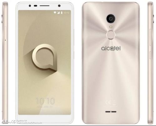 Слухи: Alcatel 3c замечен на рендерах