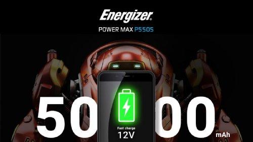 Анонсы: Energizer Power Max P550S представлен официально