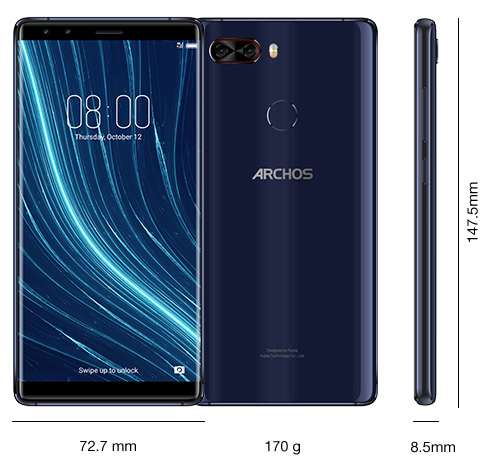 Анонсы: ARCHOS Diamond Omega – смартфон с флагманскими характеристиками