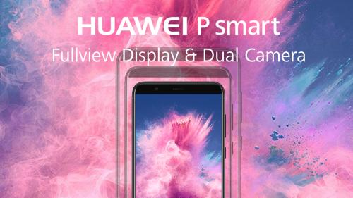 Анонсы: Полноэкранный Huawei P Smart с EMUI 8.0 появился у Vodafone UK