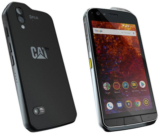 Защищенный смартфон CAT S61 оборудован улучшенным тепловизором