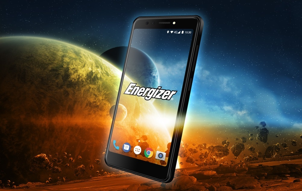 Energizer представит смартфон с огромным аккумулятором